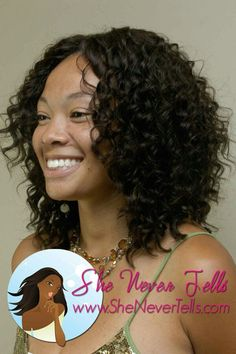 Curly weave
