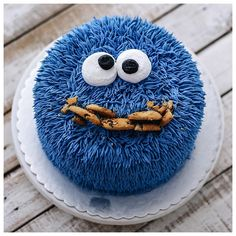Hairy cookie monster