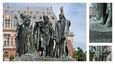 Le Monument aux Bourgeois de Calais est un groupe statuaire d'Auguste Rodin commandé par la Ville de Calais où a été inauguré le premier exemplaire en bronze en 1895.