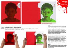 interactive flyer to increase the awareness of child abuse
