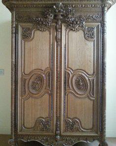 exceptionnelle armoire normande de bayeux dite de la plaine de caen meubles pinterest. Black Bedroom Furniture Sets. Home Design Ideas