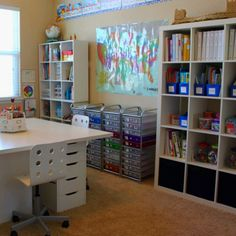 1000 Images About Homeschool Room On Pinterest