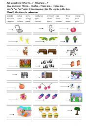 demonstratives demonstrative pronouns this these that those worksheet 1 icon tareas. Black Bedroom Furniture Sets. Home Design Ideas