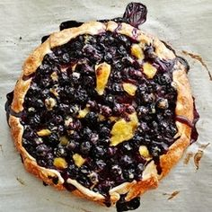 Blueberry Mango Tart recipe