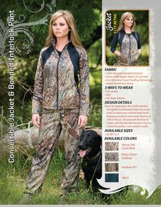 Seriously, I have been searching for women's hunting gear that actually FITS a woman! Hallelujah!!!