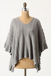 Arced Ripples Pullover