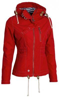 dfa68e545a3a Dámská bunda Woox - Drizzle Jacket Ladies´ Red - Outdooria.