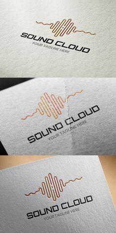 Sound Cloud Logo Template