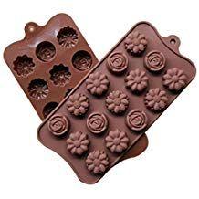 Bismarckbeer cucchiaio in silicone per cioccolatini cubetti di ghiaccio biscotti making cupcake cake topper colore casuale