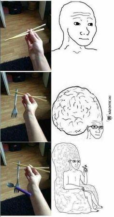 Is this expanding brain meme Really Funny Memes, Stupid Funny Memes, Funny Relatable Memes, Haha Funny, Funny Cute, Hilarious, Funny Images, Funny Pictures, Memes Estúpidos