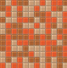 Created with Crossville's online mosaic builder, an interactive tool for designing custom tile looks.
