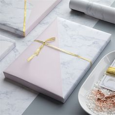 Original double-faced Gift Paper Package European Style Christmas Packing Paper 70cm*50cm DIY Marble Wrapping Paper