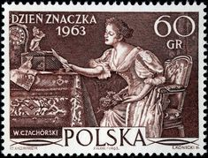 A Love Letter - Beautiful Engraving from Poland