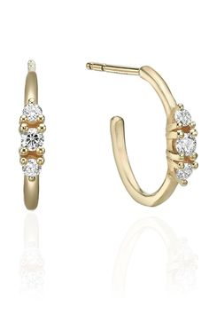 Or Rose, Rose Gold, Solid Gold, White Gold, Take Me Up, Classic Gold, Gold Hoop Earrings, Black Diamond, Natural Diamonds