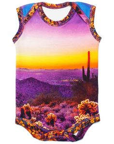 Desert Sunset Bodysuit Onesie