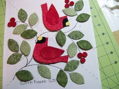 ~ free BOM pattern, month one ~ Love this....