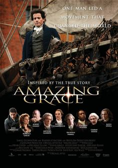 AMAZING GRACE ~ Directed by Michael Apted. Film based on the life of William Wilberforce (played by Ioan Gruffud) who fought to bring an end to the British slave trade. Benedict Cumberbatch co-stars as William Pitt. See Movie, Movie Tv, Movies Showing, Movies And Tv Shows, Romola Garai, Christian Movies, Film Base, Period Dramas, Amazing Grace