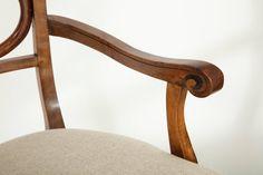 biedermeier karfás szék Chair, Furniture, Home Decor, Antiquities, German, Decoration Home, Room Decor, Home Furnishings, Stool