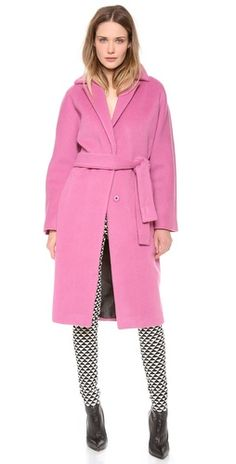 Bold trench.