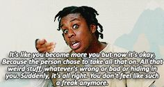 """Orange Is The New Black: """"What do I think love is?"""" Crazy Eyes / Suzanne Warren"""