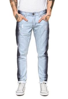 Calça Jeans Zamany Slim Azul