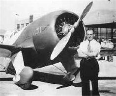 Gee Bee R-1 with pilot Jimmy Doolittle