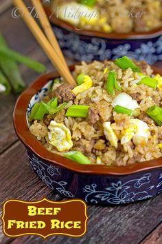 Take-Out Beef Fried Rice #ChineseFood #AuthenitcFriedRiceRecipe #JasmineRice