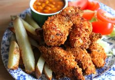 slimming world recipes: Baked KFC Style Chicken