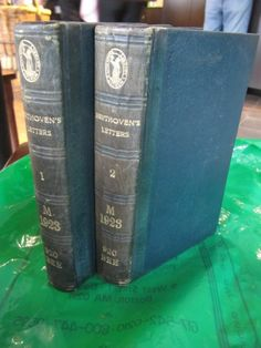 SCARCE BEETHOVENS LETTERS(1790-1826) 1866 2 VOLS GOOD CONDITION ,FACSIMILE!