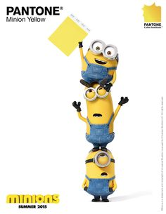 Pantone Color Institute announces PANTONE Minion Yellow: Our first-ever character branded color