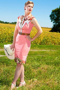 Items similar to The Dale Dress - Coral - Western Rodeo Cowgirl Pinup Dress on Etsy Rodeo Cowgirl, Cowgirl Style, Cowgirl Chic, Gypsy Cowgirl, Western Style, Country Style, Cow Girl, Cowgirl Outfits, Western Outfits