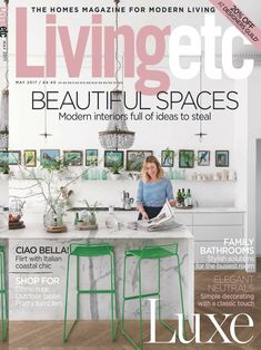 Read Living Etc Magazine - May 2017 digital edition on your iPad, iPhone, Android Devices & web from Magzter Digital Newsstand