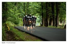 Marshall Kappel's image of Etixx-QuickStep's ride against the clock in the 2015 Critérium du Dauphiné appeared in Issue 56