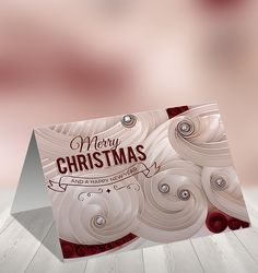 Christmas and New Year gift cards on Behance