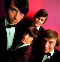 """The Monkees"" (1966-68)  Michael Nesmith, Davy Jones, Micky Dolenz, Peter Tork"