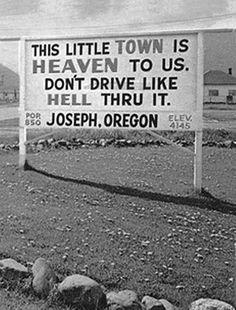 Joseph, Oregon (1960)//