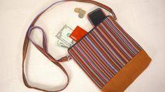 Cross Body Bag October Nutmeg Brown Purse Fair by EducationAndMore, $24.00