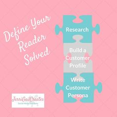 3 Steps to Define Your Reader.....a marketing puzzle solved!  Link in profile.  __________________________________________________ _____________________________________________________  #socialmedia #socialmediamarketing #smm #marketing #socialmediatips #smallbusiness #businesswomen