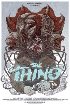 """MONDO POSTER """"THE THING""""."""
