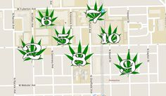 Top 10 Places To Smoke On DePaul's Campus.   4/20 is coming up, and if you aren't too busy celebrating Hitler's birthday, consider hitting up these places on campus for a prime reefer-rippin' sesh.  #DePaul #DePaulUniversity #Chicago