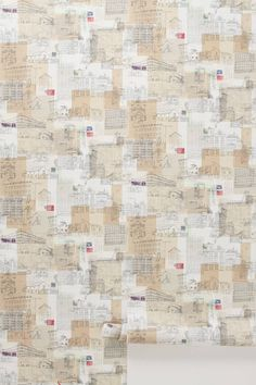 Composed City Wallpaper - anthropologie.com