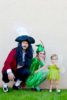 DETTE CAKES: Family Peter Pan Costumes