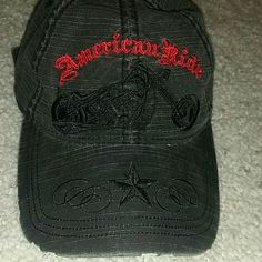 Toby Keith American ride hat Toby Keith American ride hat. Worn once. In perfect condition. Rips on bill was how it was designed. Great for a Toby Keith fan. Toby Keith  Accessories Hats