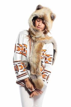 Red Fox by SpiritHoods. I want.