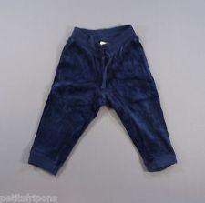 Pantalon jogging velours bleu marine H&M 6-9 mois garçons