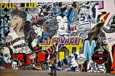 Lucid Dreams: FAILE : Collage Urbano