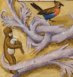 The Resurrection (detail), from Breviary of Isabella of Castile, about 1497. British Library