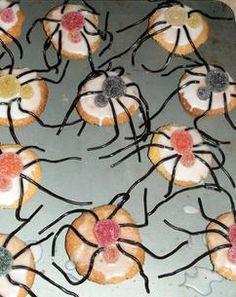 kindertraktatie herfst spinnen