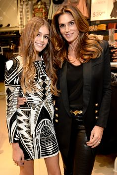 The icon and her daughter talked modeling for Teen Vogue.