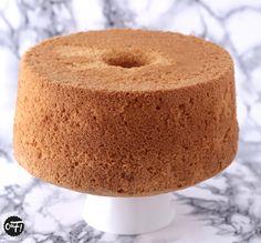 Chiffon cake, base de gateau à fourrer et recouvrir de pâte à sucre